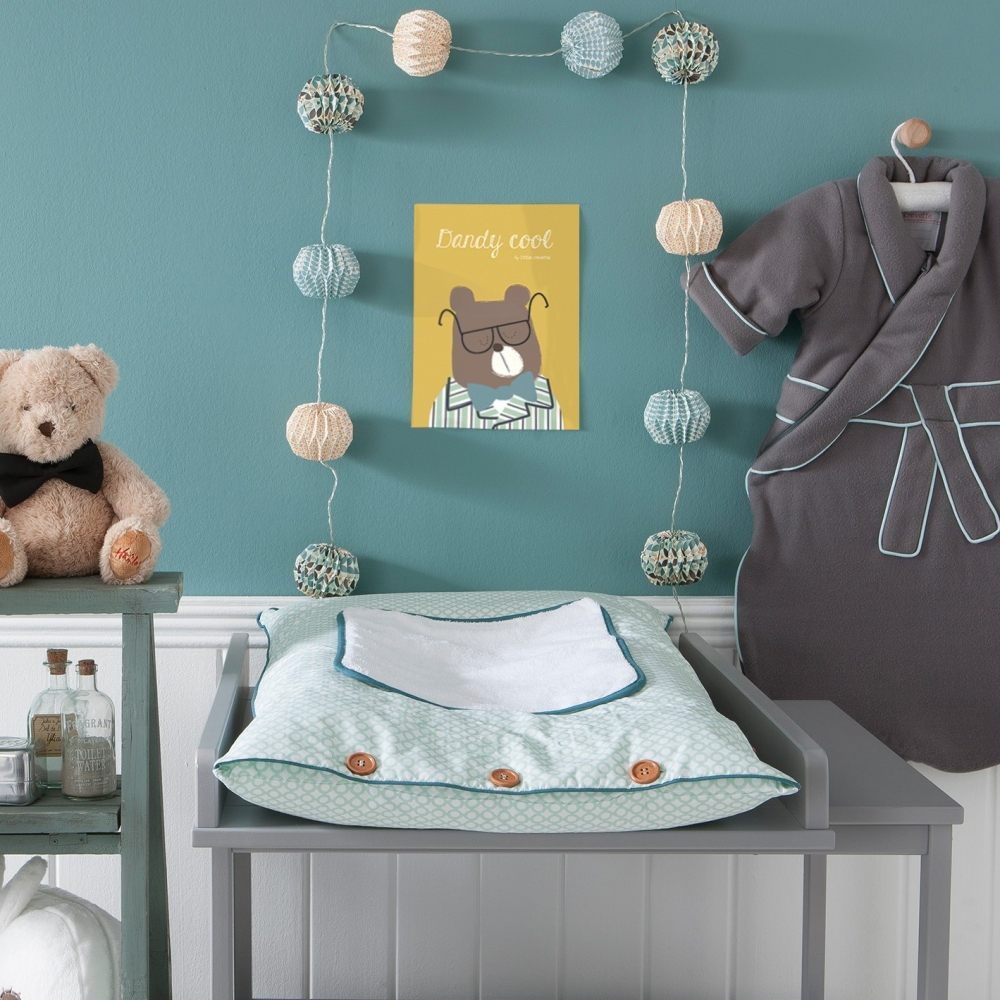 Affiche d co gar on ours dandy cool little crevette - Affiche chambre garcon ...