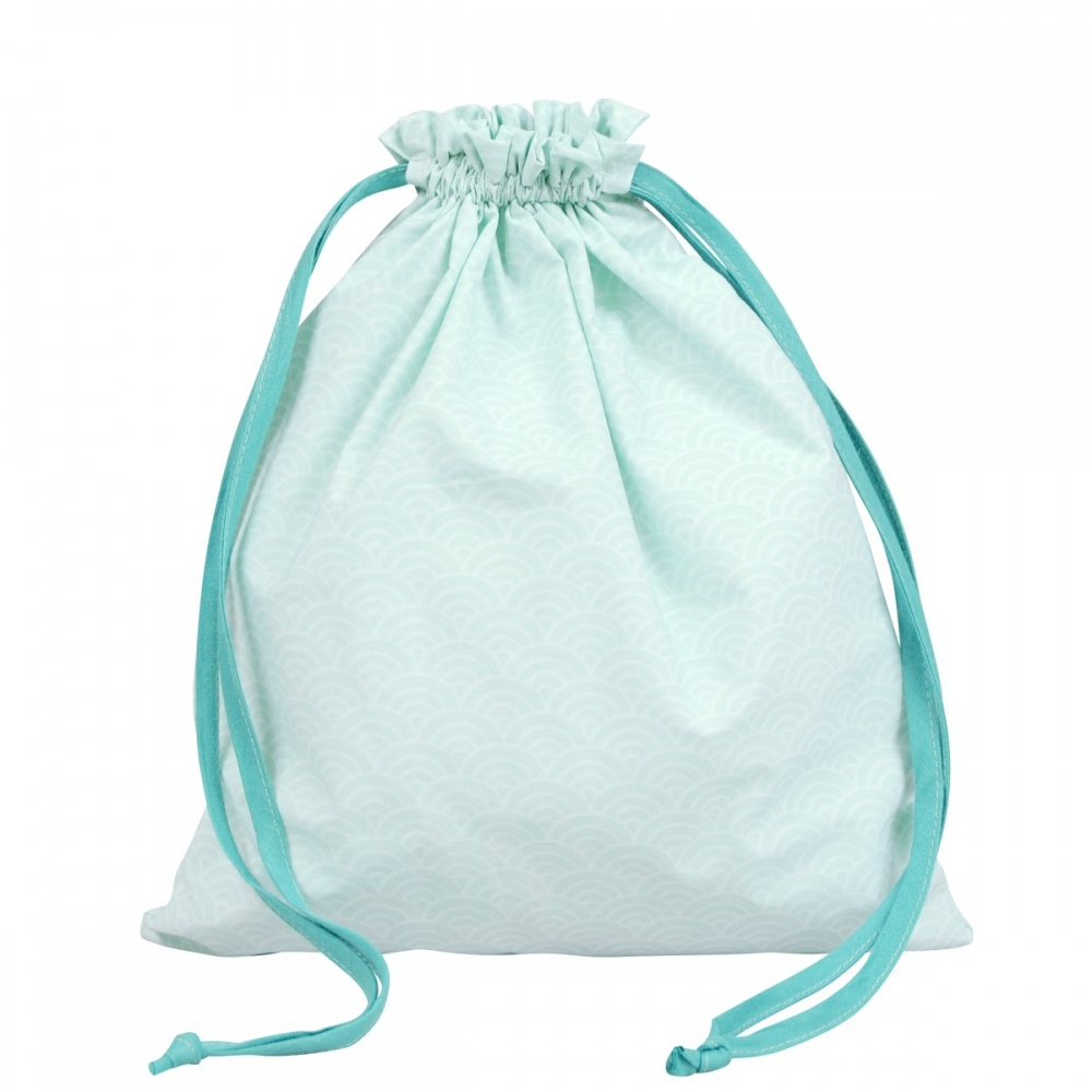 Sac linge original machine laver bleu little crevette - Sac a linge bebe ...