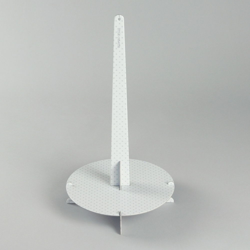 support carton pour g teau de couches little crevette. Black Bedroom Furniture Sets. Home Design Ideas
