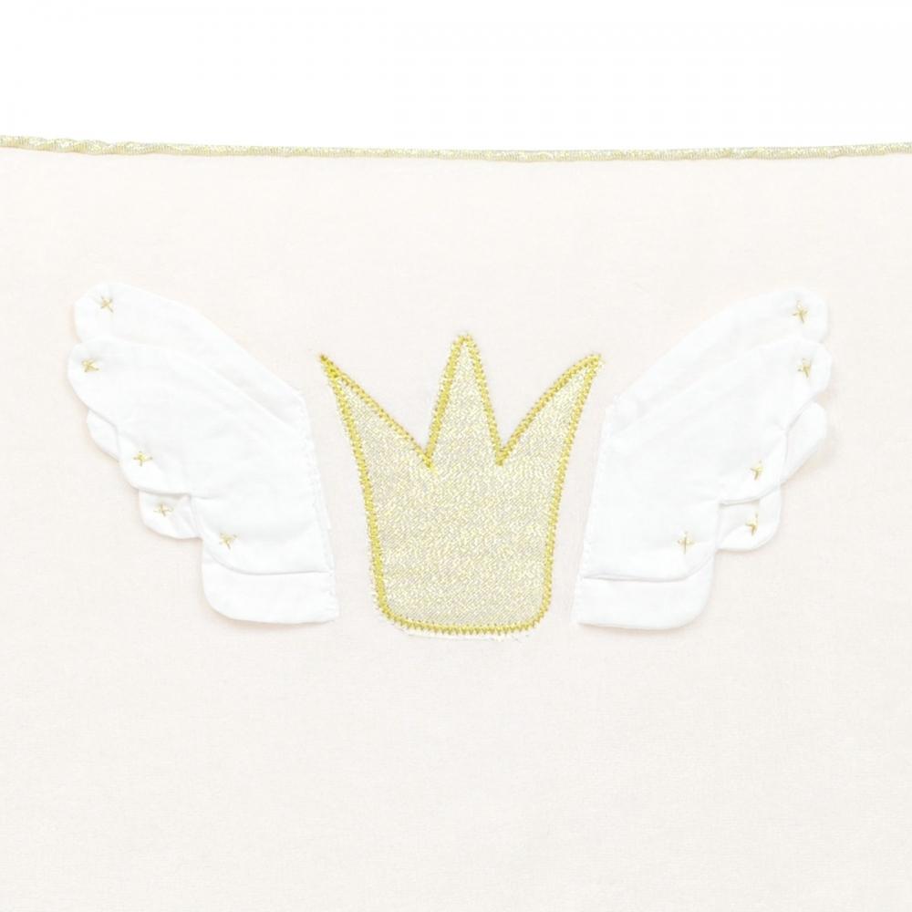 tour de lit fille velours princesse swan little crevette. Black Bedroom Furniture Sets. Home Design Ideas