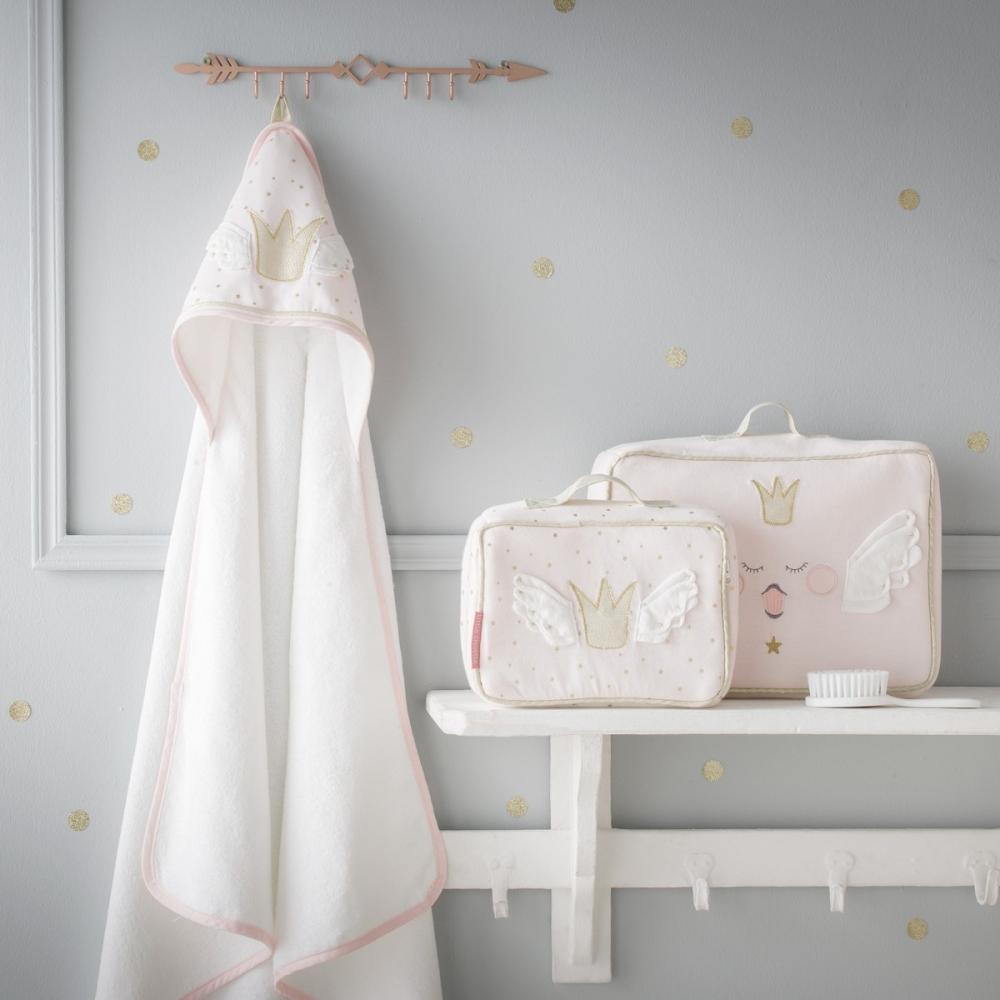 cape de bain b b fille princesse swan little crevette. Black Bedroom Furniture Sets. Home Design Ideas