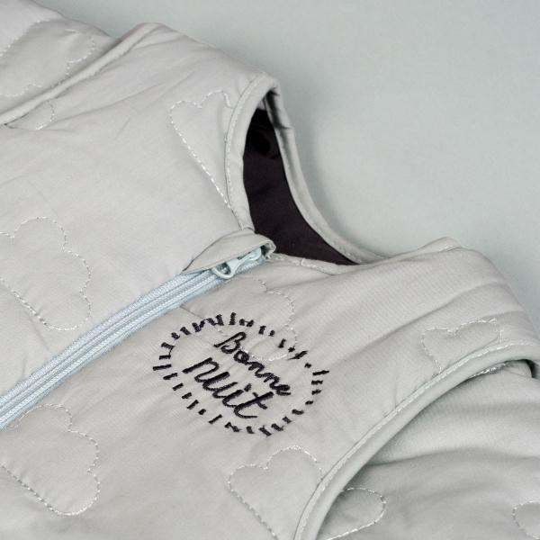Gigoteuse hiver à manches coton bio Bonne nuit