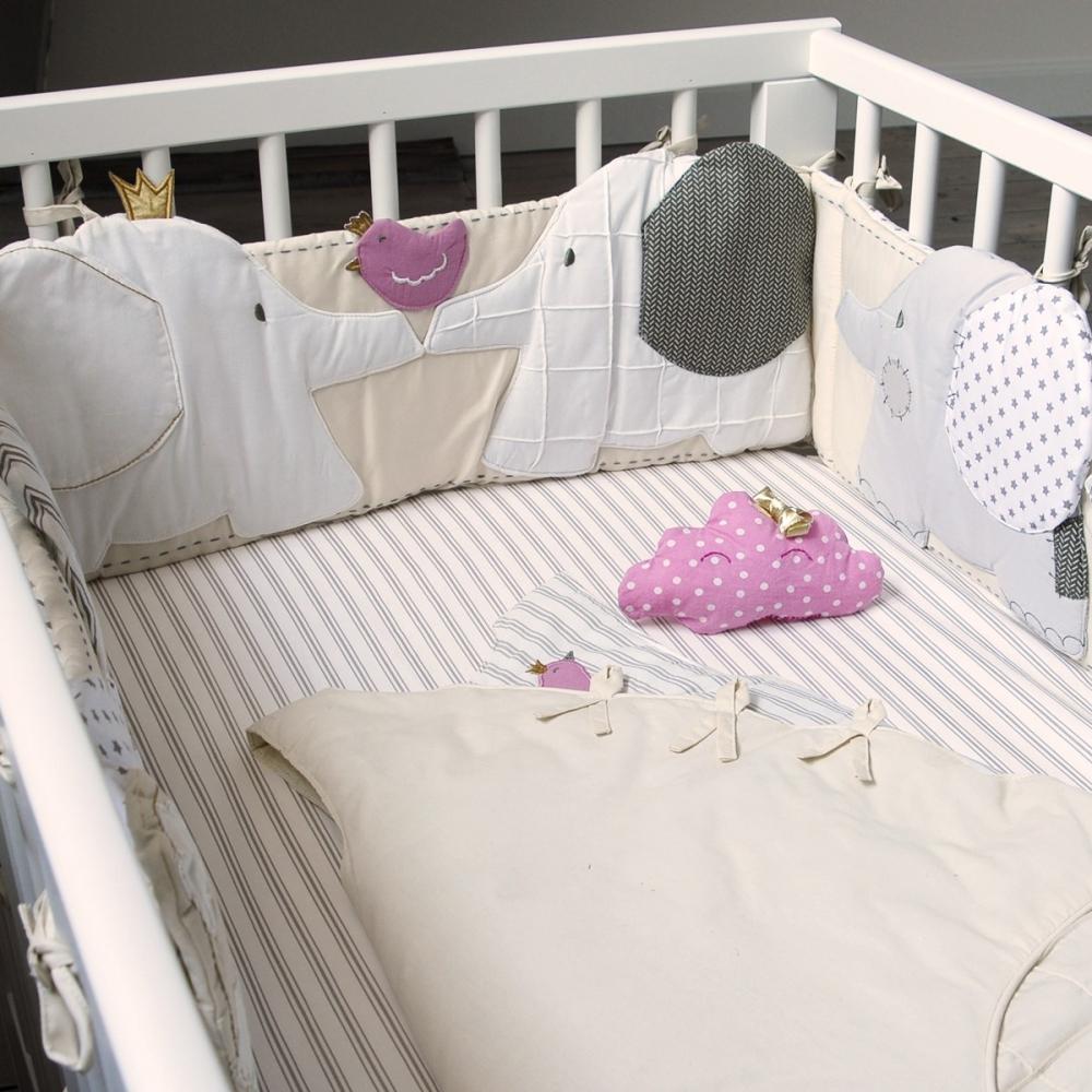 drap housse b b ray taupe z phyr little crevette. Black Bedroom Furniture Sets. Home Design Ideas