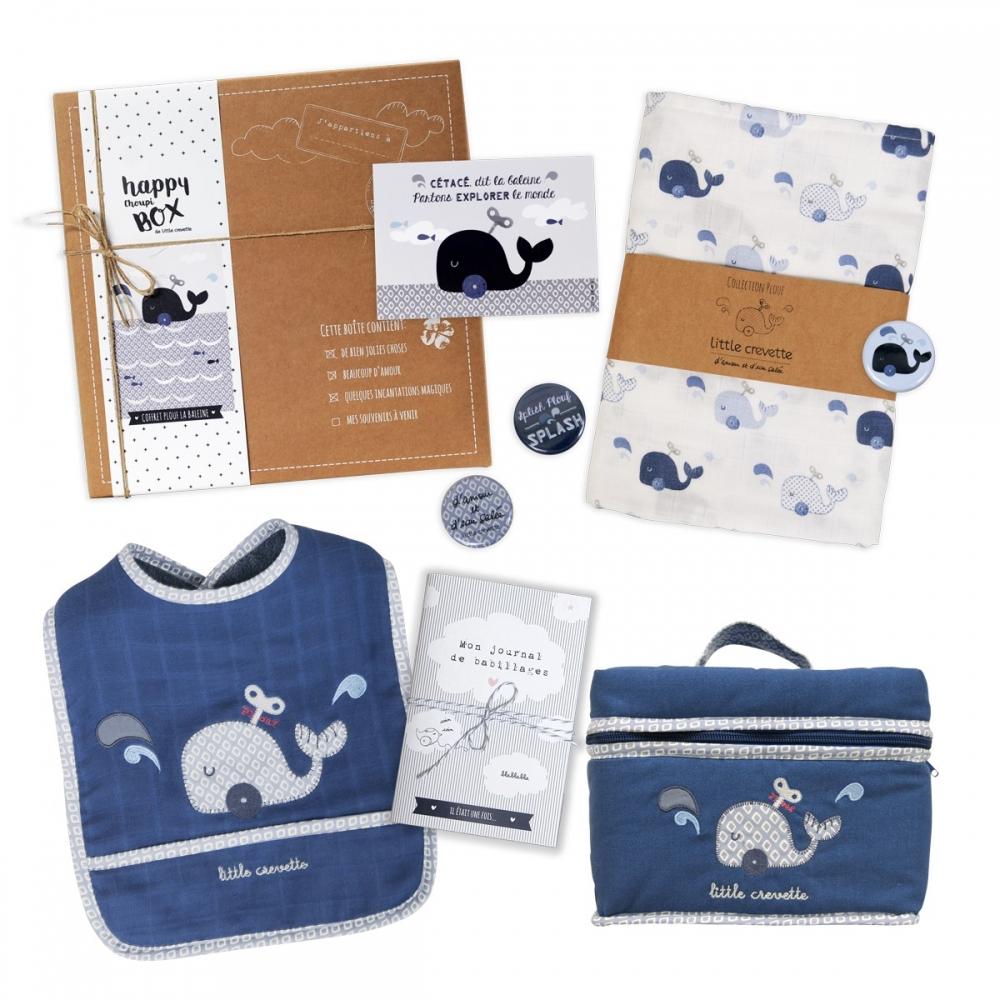 Coffret cadeau bébé Baleine - la moyenne box