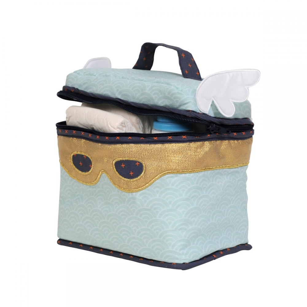 trousse de toilette enfant super h ros little crevette