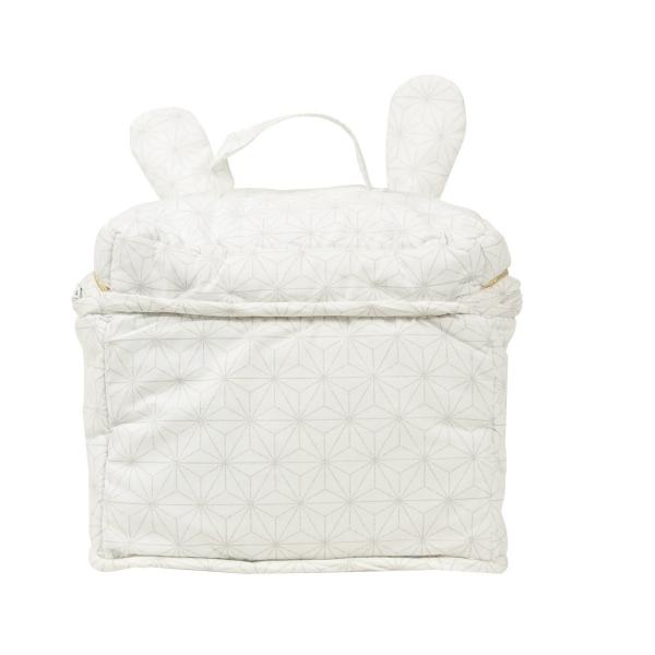 Trousse de toilette lapin Pompom
