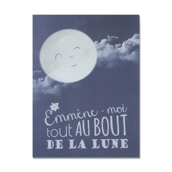 """Affiche """"Au bout de la Lune"""""""