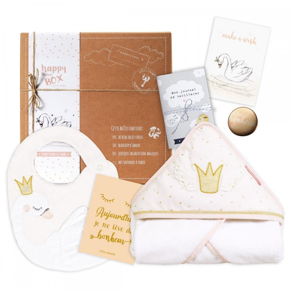 Coffret cadeau bébé Princesse Swan - la moyenne box