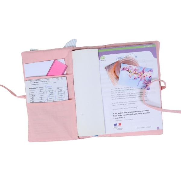 Protège-carnet de santé Pomme d'amour