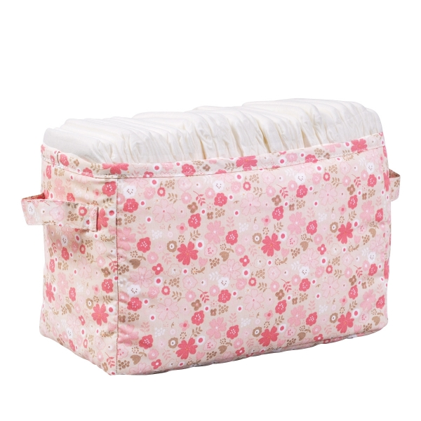 Bac à couches rose Mila