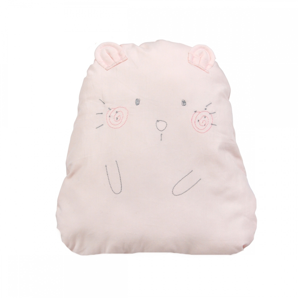 Coussin doudou hamster