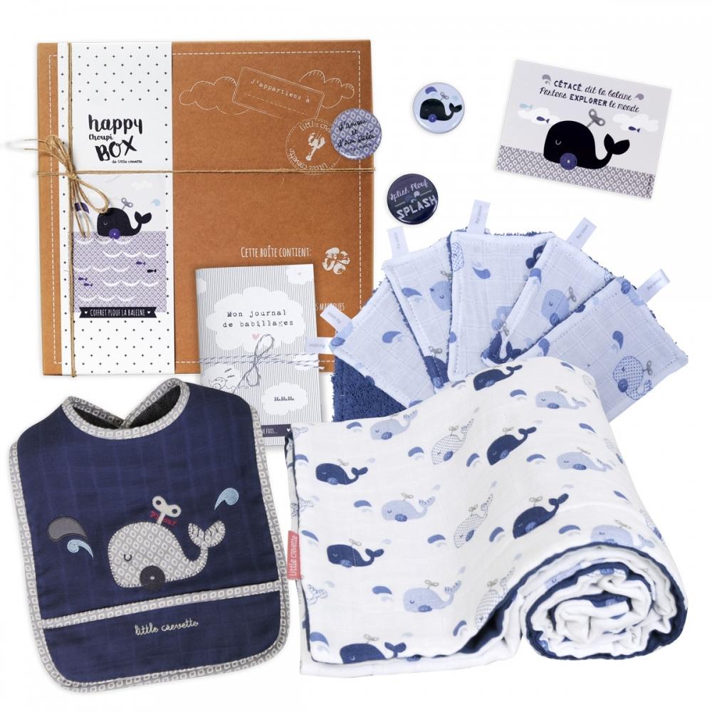 coffret cadeau bébé baleine