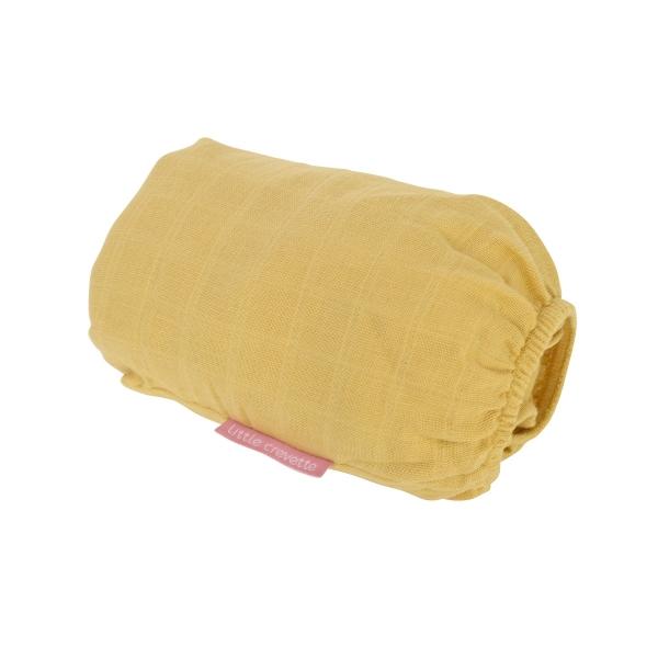 Drap-housse en lange Moutarde