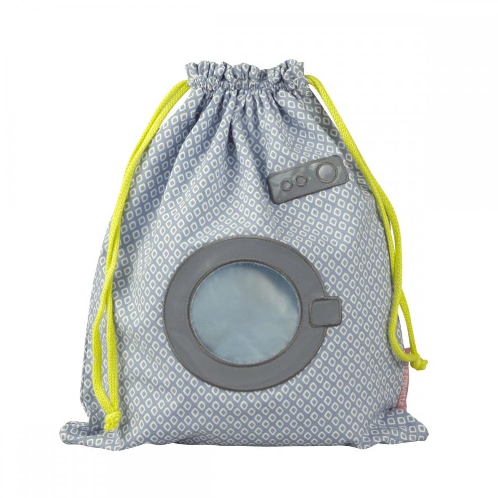 Sac à linge mouillé bleu Machine à laver