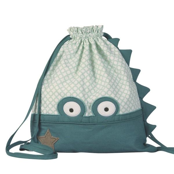 sac dos enfant crocodile little crevette. Black Bedroom Furniture Sets. Home Design Ideas