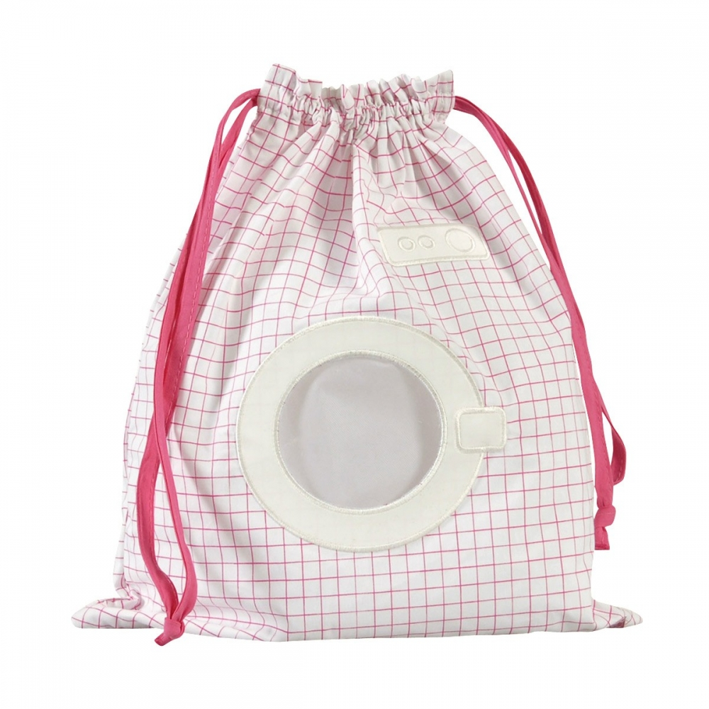 Sac linge mouill machine laver rose little crevette - Sac a linge bebe ...