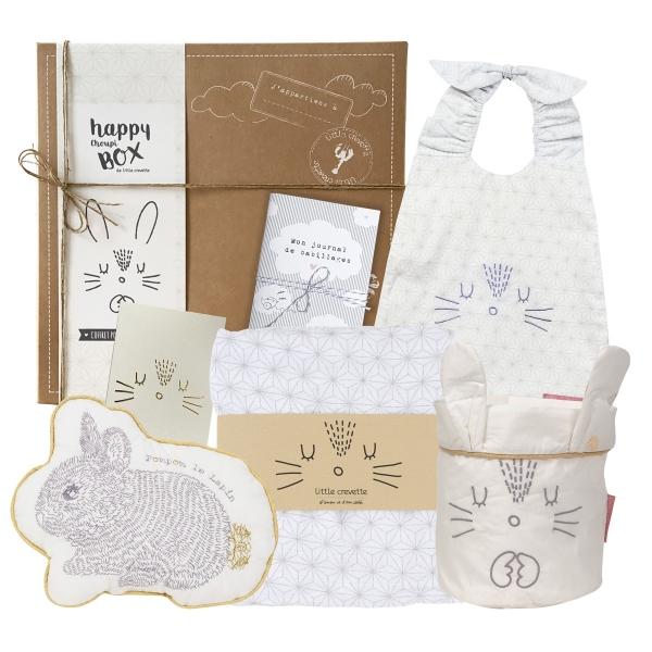 coffret cadeau bébé mixte lapin