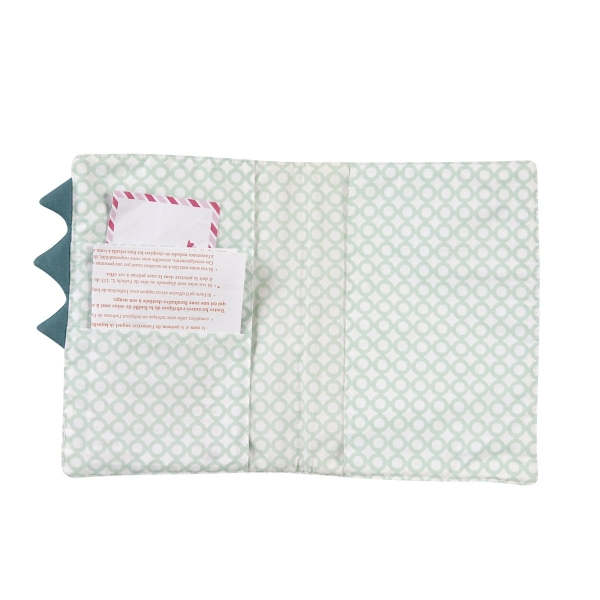 Protège-carnet de santé bébé original Cro-cro-dile