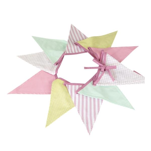 guirlande origami chambre bebe mobiles pour b fabriquer u hellocoton guirlande de fanions d. Black Bedroom Furniture Sets. Home Design Ideas