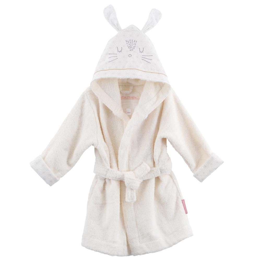 Peignoir enfant lapin Pompom