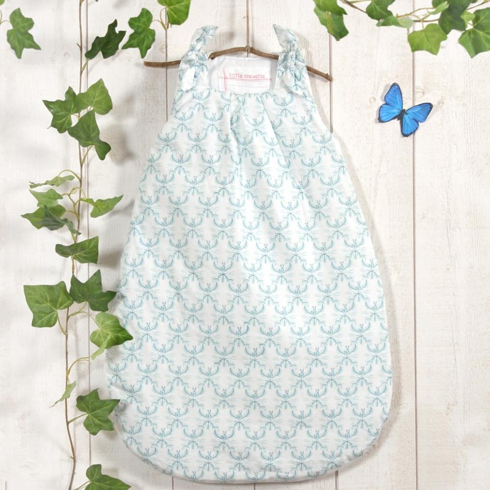 turbulette fille bleu aqua garden party little crevette. Black Bedroom Furniture Sets. Home Design Ideas