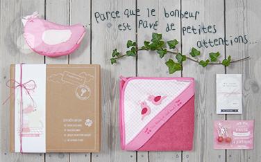 La Happy Choupi Box : le coffret cadeau de naissance Little Crevette
