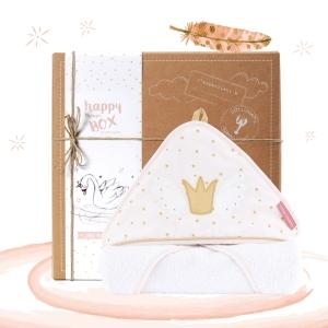 Coffret cadeau bébé Princesse Swan