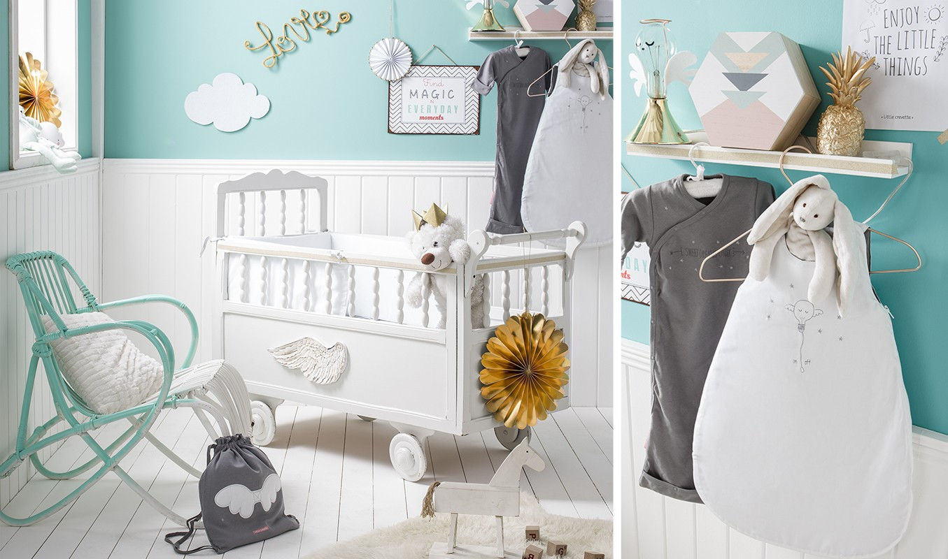 Theme De Chambre Bebe Mixte Sweet Dreams Little Crevette